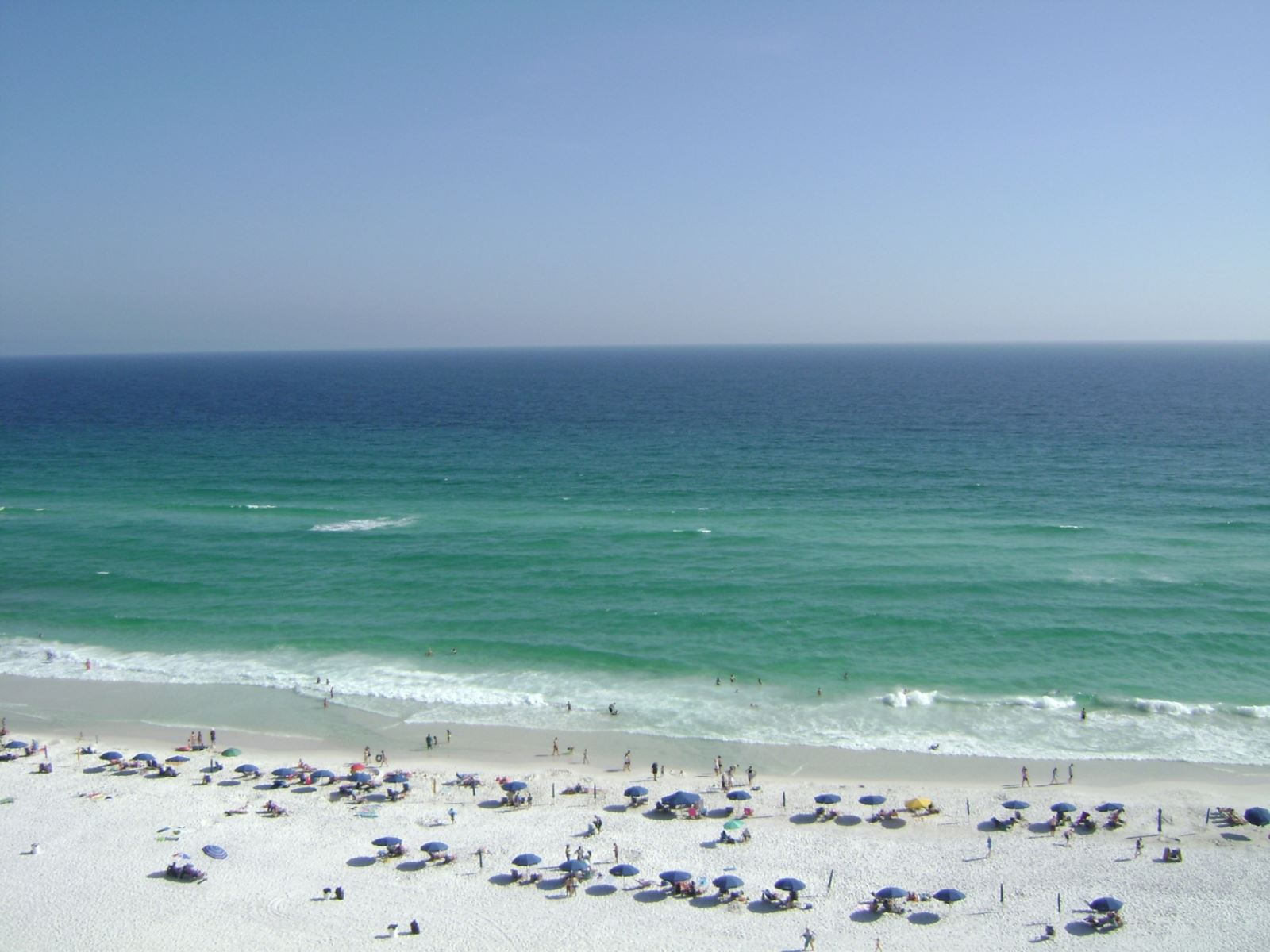Gorgeous Sugar White Sand at Majestic Sun in Miramar Beach near Destin FL