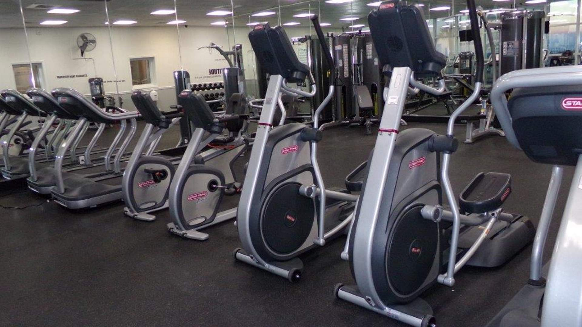 Upgraded Fitness Center Overlooks the Water at Majestic Sun in Miramar Beach