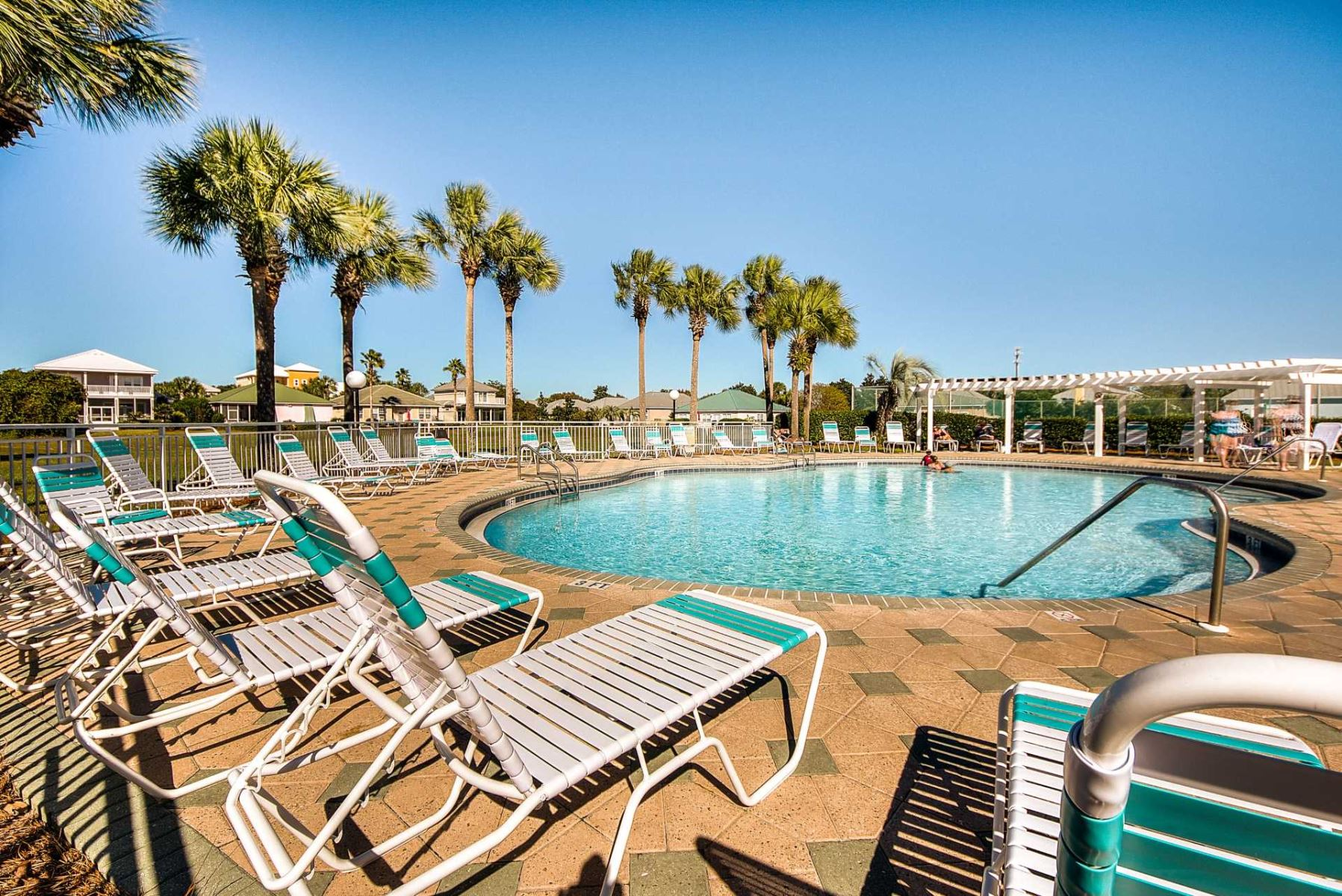 The second pool at on the north side of Maravilla, Destin , FL